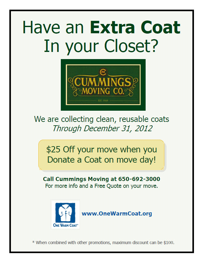 Donate a New or Gently Used and Clean Coat TODAY!