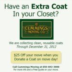 Coat Drive – San Francisco Moving Company & One Warm Coat