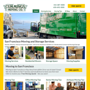 cummings moving company website