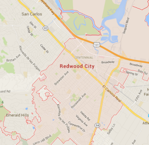 map redwood city ca moving company