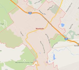 map woodside ca moving company