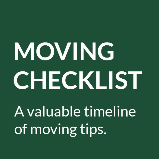 Moving Checklist. Avaluable timeline of moving tips