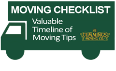 Moving checklist. Valuable Timeline of oving Tips. CUMMINGS MOVING Co.
